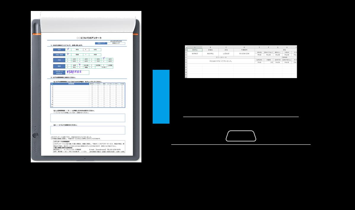 データ化見本イメージ